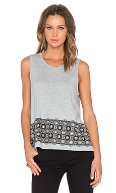 Sass & Bide Sing Out Top in Grey Marle