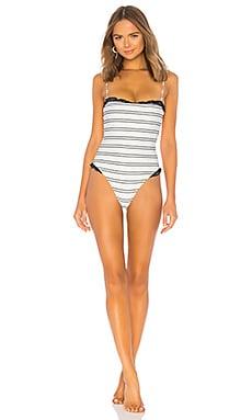 Купить Слитный купальник pin up - SAME, Слитные купальники, США, Белый