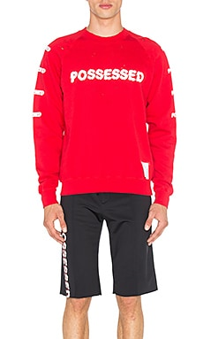 Possessed Moth Eaten Sweatshirt