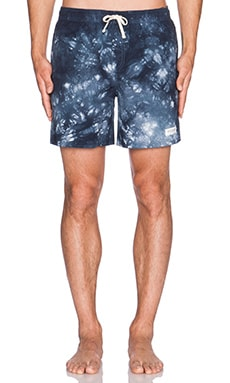 SATURDAYS NYC Ritchie Tie-Dye Short in Navy