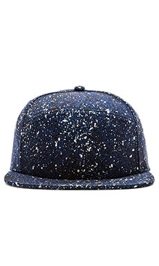 SATURDAYS NYC Lincoln Splatter Hat in Navy