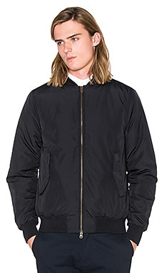 SATURDAYS NYC Christo Bomber in Black