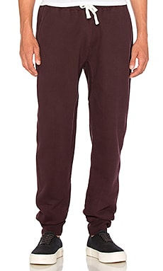 SATURDAYS NYC Ken Sweatpants in Oxblood