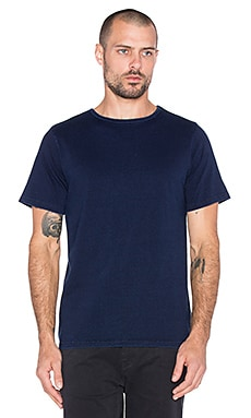 SATURDAYS NYC Brandon Tee in Indigo