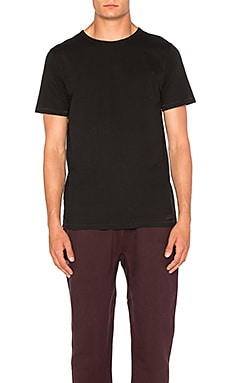 SATURDAYS NYC Brandon Tee in Black