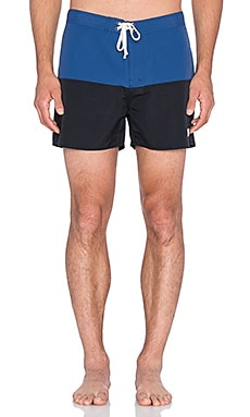 SATURDAYS NYC Ennis Boardshort in Cobalt