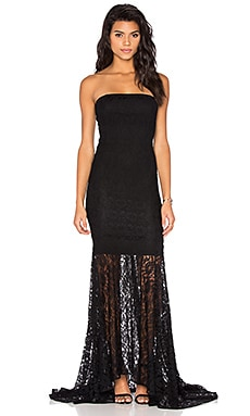 SAU Irina Gown in Black