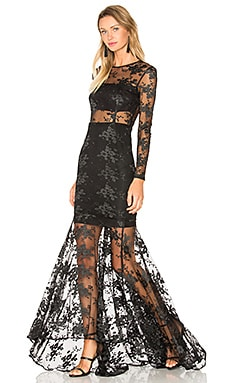 SAU Anya Gown in Black