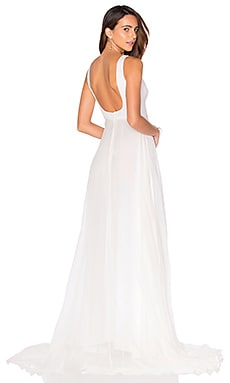 SAU Helena Gown in White