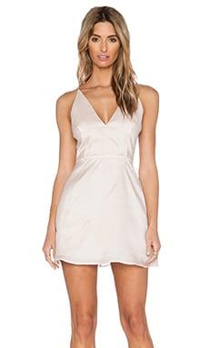 SAU Amanda Silk Dress in Pale Pink