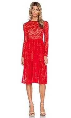 SAU Natalya Dress in Red