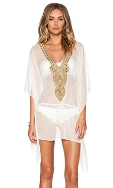 Sauvage Goddess Caftan in Cream