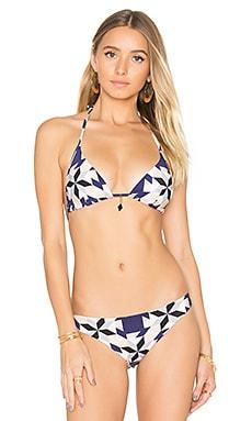 Swarovski Pendant Triangle Bikini Top