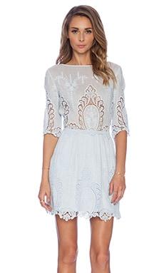 SAYLOR Lissa Dress in Sky Blue