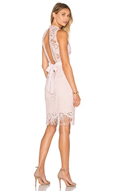 SAYLOR Marcella Dress in Blush
