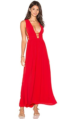 SAYLOR x REVOLVE Ria Dress in Red
