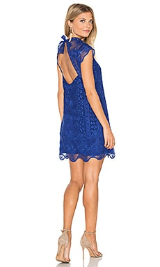 SAYLOR Aleigha Dress in Deep Blue