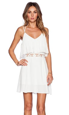SAYLOR Jennie Dress in White
