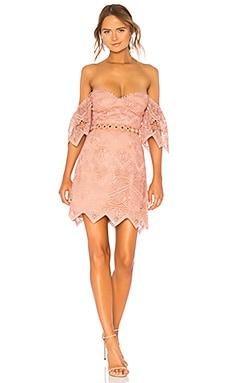 ANNIKA オフショルダードレス SAYLOR $275