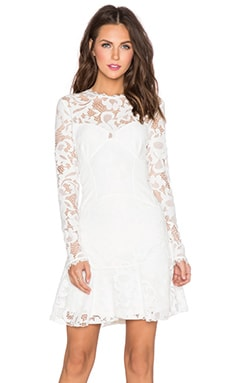 SAYLOR Kaleigh Dress in White