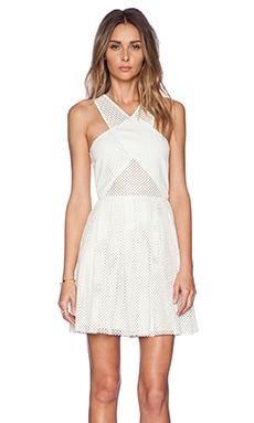Greta Dress in White