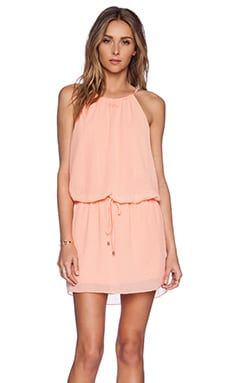 SAYLOR Bailey Dress in Coral