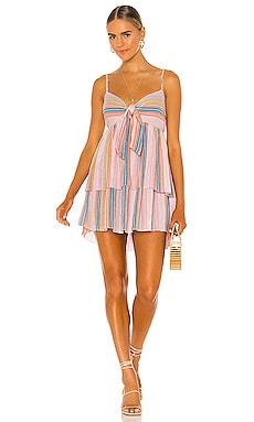 Lorinne Mini Dress SAYLOR $209 NEW