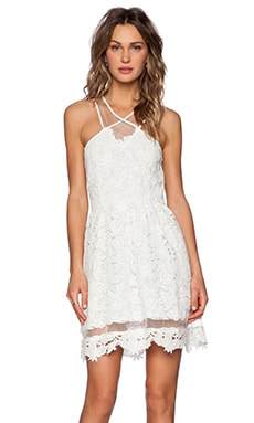 SAYLOR Geisel Dress in White