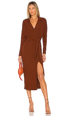 Nathalie Midi Dress SAYLOR $242