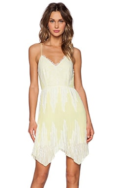 SAYLOR Quincy Dress in Yellow