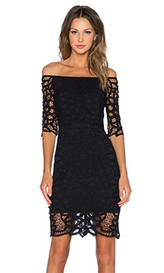 SAYLOR Cora Dress in Black