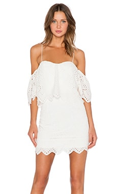 SAYLOR Karen Dress in Creme