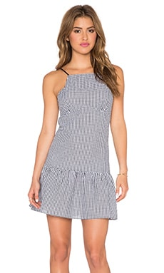 SAYLOR Addison Dress in Black & White