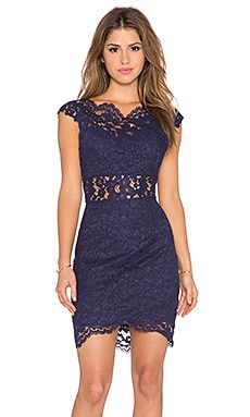 Ellie Dress in Navy