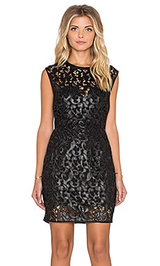 SAYLOR Ivana Dress in Black