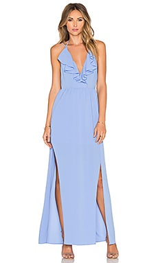 SAYLOR Alaina Maxi Dress in Periwinkle