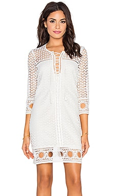 SAYLOR Alexia Dress in White