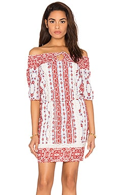 SAYLOR Blossom Mini Dress in Multi