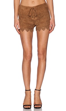 SAYLOR Rachel Short in Cognac