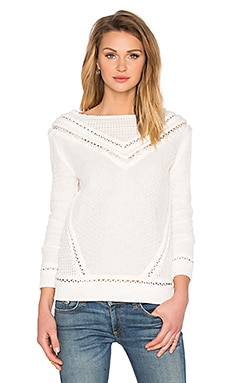 SAYLOR Kellie Sweater in White
