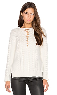 Adaline Sweater in Shell