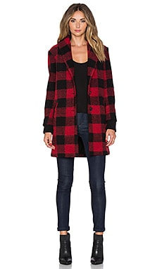 SAYLOR Desiree Jacket in Red & Black