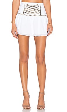 SAYLOR Cameron Skirt in White