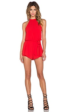 x REVOLVE Emmy Romper in Red