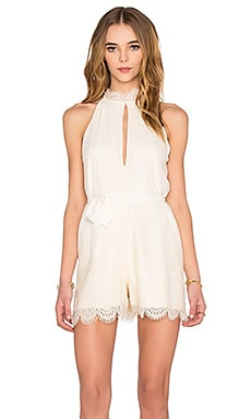 Emmy Romper in Creme