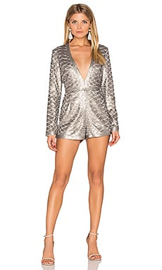 Misha Romper in Platinum
