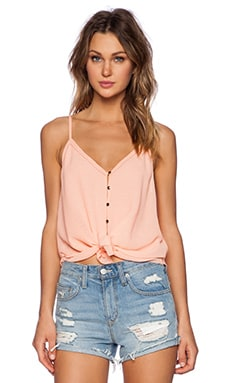 SAYLOR Kiley Top in Coral