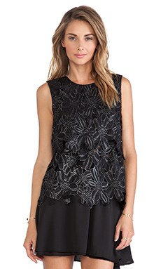 SAYLOR Isabella Tank in Black