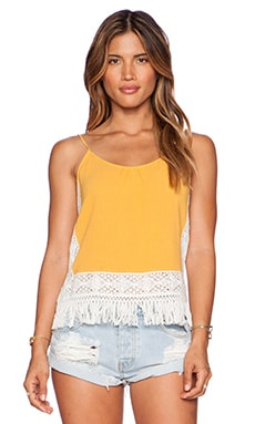 SAYLOR Rubia Top in Tangerine
