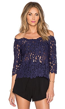 SAYLOR Daniela Top in Navy